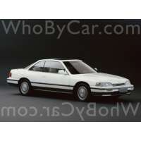 Поколение Honda Legend I купе