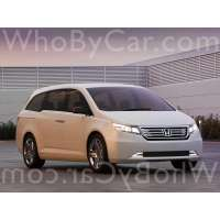 Поколение автомобиля Honda Odyssey (North America) IV