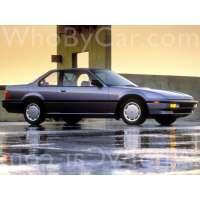 Поколение Honda Prelude III рестайлинг