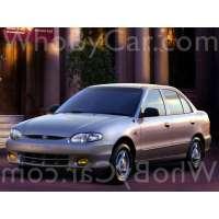 Поколение Hyundai Accent I седан