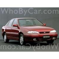 Поколение Hyundai Elantra I (J1)