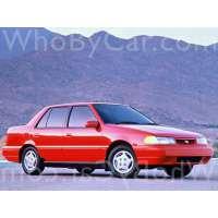 Поколение Hyundai Excel II