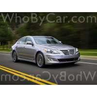 Поколение Hyundai Genesis I рестайлинг