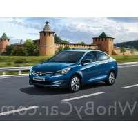 Поколение Hyundai Solaris I седан рестайлинг