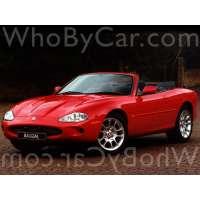 Поколение автомобиля Jaguar XKR I кабриолет