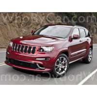 Поколение Jeep Grand Cherokee SRT8 II (WK2)
