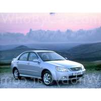 Поколение Kia Cerato I седан