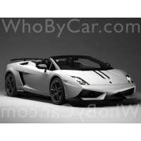 Поколение Lamborghini Gallardo I родстер рестайлинг