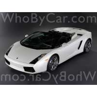 Поколение Lamborghini Gallardo I родстер