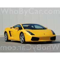 Поколение Lamborghini Gallardo I купе