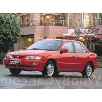 Поколение Kia Sephia I седан рестайлинг