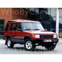 Поколение Land Rover Discovery I 5 дв. внедорожник