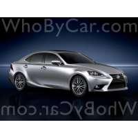 Поколение Lexus IS III