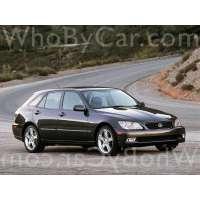 Поколение Lexus IS I 5 дв. универсал