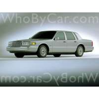 Поколение Lincoln Town Car II