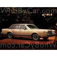 Поколение Lincoln Town Car I седан