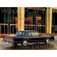 Поколение Lincoln Town Car I купе