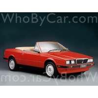 Поколение Maserati Biturbo кабриолет