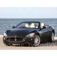 Поколение автомобиля Maserati GranTurismo кабриолет