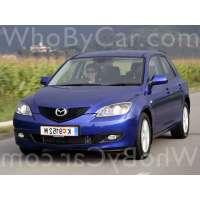 Поколение Mazda 3 I (BK) 5 дв. хэтчбек рестайлинг