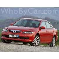 Поколение Mazda 6 I (GG) седан рестайлинг