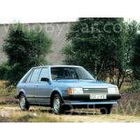 Поколение Mazda 323 II (BD) 5 дв. хэтчбек