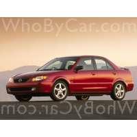 Поколение Mazda Protege III (BJ) седан