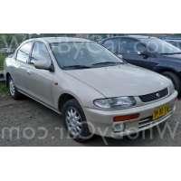 Поколение Mazda Protege II (BH)