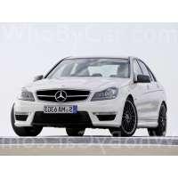 Поколение Mercedes-Benz C-klasse AMG III (W204) седан рестайлинг