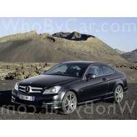 Поколение Mercedes-Benz C-klasse III (W204) купе рестайлинг