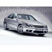 Поколение Mercedes-Benz C-klasse AMG II (W203) седан рестайлинг