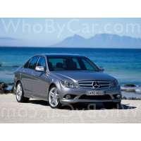 Поколение автомобиля Mercedes-Benz C-klasse III (W204) седан