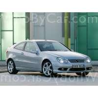 Поколение автомобиля Mercedes-Benz C-klasse II (W203) купе рестайлинг