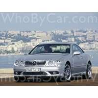 Поколение Mercedes-Benz CL-klasse AMG I (C215) рестайлинг