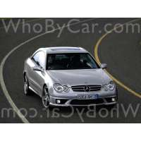 Поколение Mercedes-Benz CLK-klasse AMG II (W209) купе рестайлинг