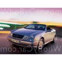 Поколение Mercedes-Benz CLK-klasse AMG I (W208) кабриолет рестайлинг