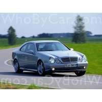 Поколение Mercedes-Benz CLK-klasse AMG I (W208) купе рестайлинг