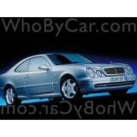 Поколение Mercedes-Benz CLK-klasse AMG I (W208)