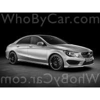 Поколение Mercedes-Benz CLA-klasse седан