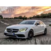 Поколение Mercedes-Benz CLS-klasse AMG II (W218) седан рестайлинг