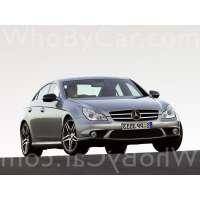 Поколение Mercedes-Benz CLS-klasse AMG I (C219) рестайлинг