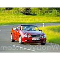 Поколение Mercedes-Benz CLK-klasse I (W208) кабриолет рестайлинг