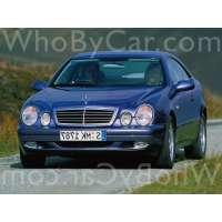 Поколение Mercedes-Benz CLK-klasse I (W208) купе рестайлинг