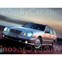 Поколение Mercedes-Benz E-klasse AMG II (W210, S210) 5 дв. универсал рестайлинг