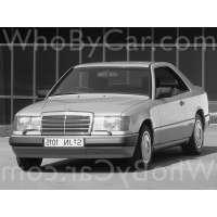 Поколение Mercedes-Benz E-klasse I (W124) купе