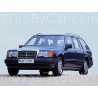 Поколение Mercedes-Benz E-klasse I (W124) 5 дв. универсал
