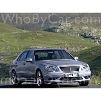 Поколение Mercedes-Benz S-klasse AMG I (W220) рестайлинг