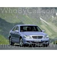 Поколение Mercedes-Benz S-klasse IV (W220) рестайлинг