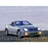 Поколение Mercedes-Benz SLK-klasse AMG I (R170)