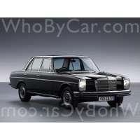 Поколение Mercedes-Benz W114 седан